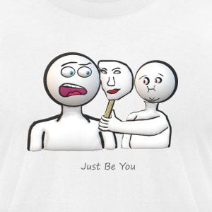 Funny - Men's T-Shirt by American Apparel