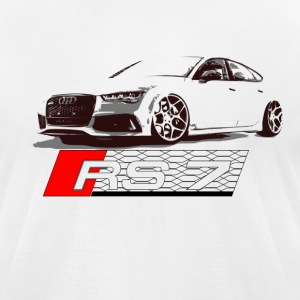 Audi RS7 - Men's T-Shirt by American Apparel