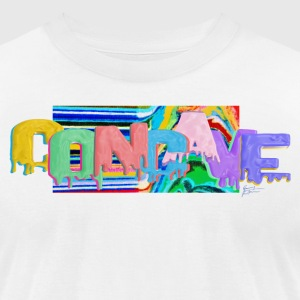 Concave - Men's T-Shirt by American Apparel