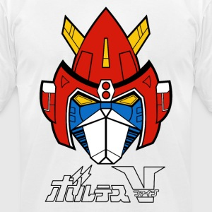 Chōdenji Machine Voltes V - Men's T-Shirt by American Apparel