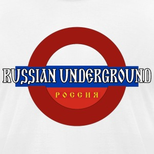 Russian Underground - Men's T-Shirt by American Apparel