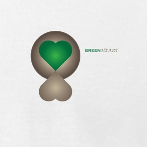 GREENHEART - Men's T-Shirt by American Apparel