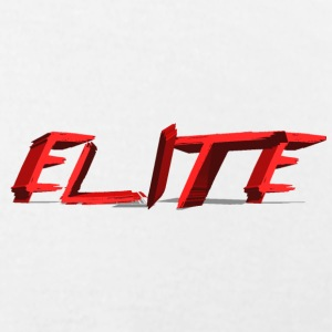 Elite logo in chest - Men's T-Shirt by American Apparel