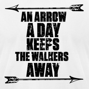 AN ARROW A DAY DARYL - Men's T-Shirt by American Apparel