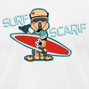 Surf Scarif - Men's T-Shirt by American Apparel