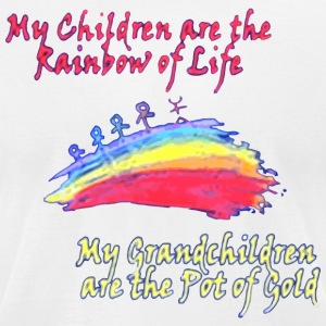 Grandkids are the Pot of Gold - Men's T-Shirt by American Apparel