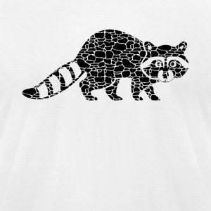 Raccoon Tee Shirt - Men's T-Shirt by American Apparel