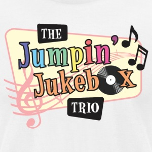 Official Jumpin' Jukebox Trio Merchandise - Men's T-Shirt by American Apparel