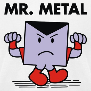 Mr metal - Men's T-Shirt by American Apparel