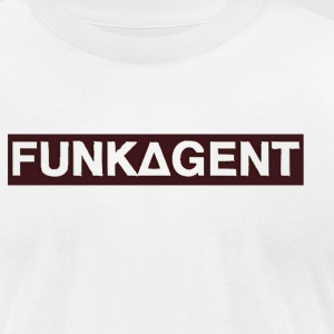 FunkAgent - Men's T-Shirt by American Apparel