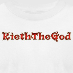 KiethTheGod 200 folower - Men's T-Shirt by American Apparel