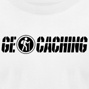 Geocacher - Geocaching - Men's T-Shirt by American Apparel