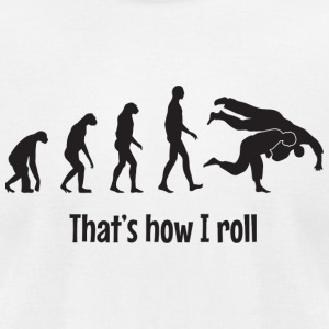 Bjj - That's how I roll - Men's T-Shirt by American Apparel