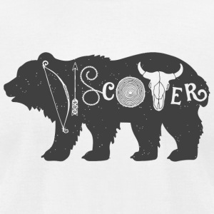 Discover - Discover - Men's T-Shirt by American Apparel
