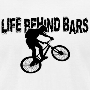 Bar - life behind bars - Men's T-Shirt by American Apparel
