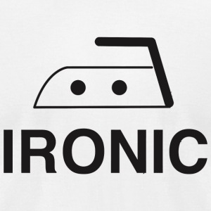 Ironic - Ironic - Men's T-Shirt by American Apparel