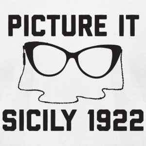 Dorothy Picture It Sicily 1922 - Men's T-Shirt by American Apparel