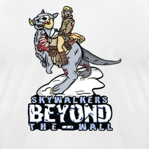 Skywalkers Beyound the Wall - Men's T-Shirt by American Apparel