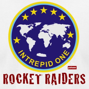 Rocket Raiders - Intrepid One by Patame - Men's T-Shirt by American Apparel