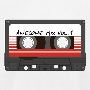 Awesome Mix Vol. 1 - Men's T-Shirt by American Apparel