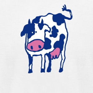 Holstein Cow Breed Artwork - Men's T-Shirt by American Apparel