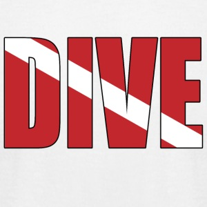 Dive - Men's T-Shirt by American Apparel