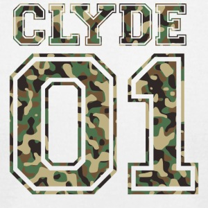 Clyde_01_camo_2 - Men's T-Shirt by American Apparel