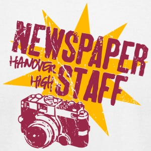 Newspaper Staff Hanover High - Men's T-Shirt by American Apparel