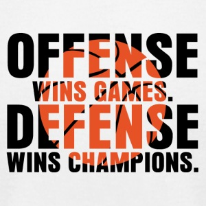 offense wins games - Men's T-Shirt by American Apparel