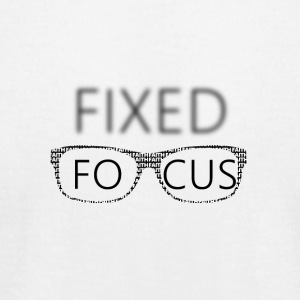 FIXED FOCUS 2017 - Men's T-Shirt by American Apparel