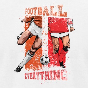 Football is Everything - Men's T-Shirt by American Apparel