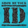 show me your ID identity - Men's Fine Jersey T-Shirt