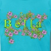 Team Bella Floral Lavender Flowers yellow Gold - Men's Fine Jersey T-Shirt