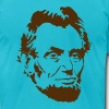 Abe Lincoln - Men's Fine Jersey T-Shirt
