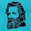 Herman Melville Portrait - Men's Fine Jersey T-Shirt