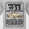 VINTAGE 1933-AGED TO PERFECTION - Men's Fine Jersey T-Shirt