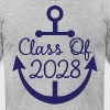 Class Of 2028 School anchor - Men's Fine Jersey T-Shirt