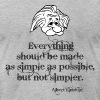 Albert Einstein Quotes - Men's Fine Jersey T-Shirt