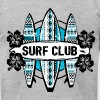 AD Surf Club - Men's Fine Jersey T-Shirt