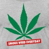 SMOKE WEED EVERYDAY - Men's Fine Jersey T-Shirt