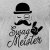 Like a swag style i love swag meister boss meme - Men's Fine Jersey T-Shirt