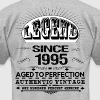 LEGEND SINCE 1995 - Men's Fine Jersey T-Shirt