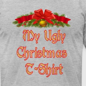 My Ugly Christmas T-shirt - Men's T-Shirt by American Apparel