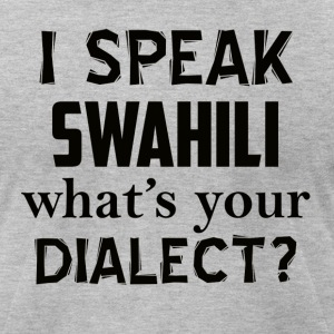 swahili dialect - Men's T-Shirt by American Apparel