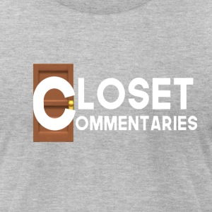 Closet Commentary Clothes - Men's T-Shirt by American Apparel