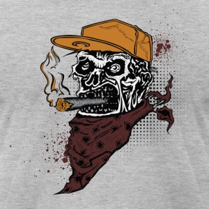 smoking - Men's T-Shirt by American Apparel