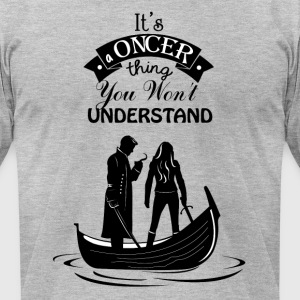 Captain Swan. Oncer Thing! - Men's T-Shirt by American Apparel