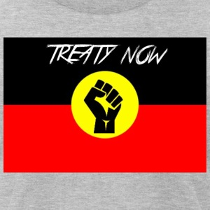 treaty aboriginal flag - Men's T-Shirt by American Apparel