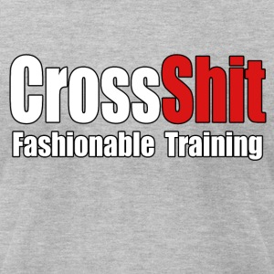 CrossShit Fashionable - Men's T-Shirt by American Apparel
