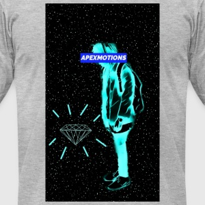 Aesthetic Diamond - Men's T-Shirt by American Apparel